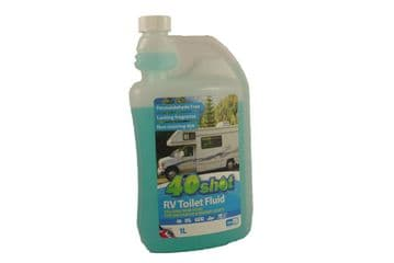 40 SHOT RV + BOAT PORTABLE MACERATOR TOILET CHEMICAL FLUID motorhome yacht
